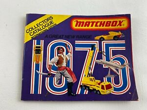 Vintage 1975 Matchbox Collectors Toy Catalog 63 Page Booklet Guide, Cars Planes