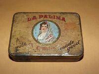 VINTAGE TOBACCO  CONGRESS  LA PALINA CIGAR    TIN CAN BOX