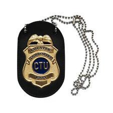 HCG 24 Jack Bauer CTU Badge Prop Replica Fox SEALED NEW