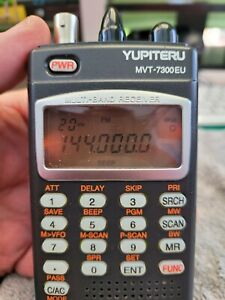Yupiteru MVT-7300EU, Very rare Scanner with Shortwave usb,lsb 1000 channel