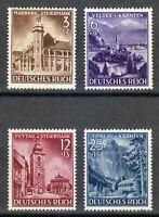 Germany 1941 MNH Mi 806-809 Sc B194-B197 Annexation of Styria and Carinthia **