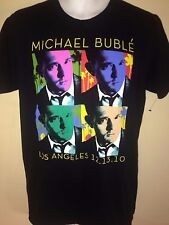 Michael Buble Los Angeles 2010 Tour Medium T-Shirt Pop R&B