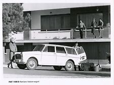 FIAT 1100 D FAMILIARE ORIG. fabbrica foto 1962 FOTO PHOTO