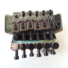 Floyd Rose ESP Cosmo Black Electric Guitar Locking Tremolo System Bridge