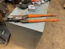 BURNDY Dieless Crimp Tool Aluminum 8-4/0 Copper 8-250kcmil P/N MY293