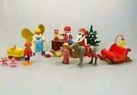 Playmobil Spielset Weihnachten Christmas Weihnachtsmann Weihnachtsengel