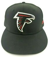 New Era 59Fifty NFL Official Atlanta Falcons Black & Red Cap Hat Fitted 7 5/8