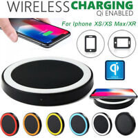 Fast Qi Wireless Charger Power Charging Dock For Iphone XS /XS Max /XR