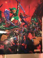 1998 The Legend of Zelda Ocarina of Time rare XL Poster 116x84cm