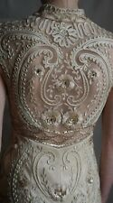 Discounted Sue Wong Gown Sz 2 NWT Ivory Bridal, Cocktail Gown, Embroidered Back,