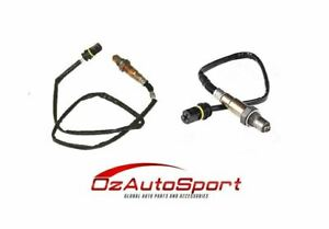 2 x o2 Oxygen Sensor for Mercedes Benz C180 W203 2000 - 2002 Vehicle Kit