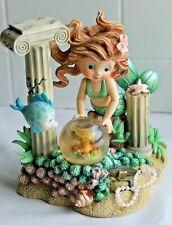 "Mermaid~Rainbow Reef 2000 Figurine Treasures Of Lost Atlantis "" Golden Challis"""