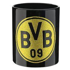 BVB Borussia Dortmund Tasse mit Glitzerlogo Kaffeetasse Becher   2018 NEU