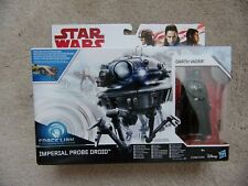 Star Wars Force Link Imperial Probe Droid & Darth Vader Figure Play Set - Hasbro