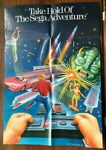 Sega Master System Poster Sega Genesis Game Instruction Manual Only