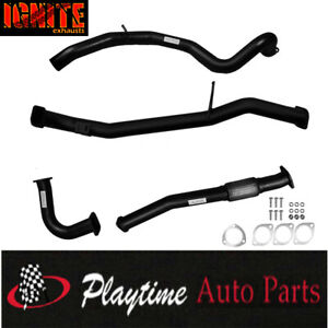 Nissan GU Patrol Exhaust 4.2L Wagon 3 Inch Ignite Dump Pipe Back with Pipe Only