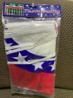 "PATRIOTIC AMERICAN FLAG BUNTING ( 2 pack)18"" X 24"" (12 bunting on string)"