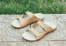 FOOT BIO-TEC Orthotic Footwear——Smile Wooden & Black* (10% off) - Women Sandal