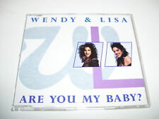 WENDY & LISA - ARE YOU MY BABY 4tr. AUSTRIA CD MAXI '89