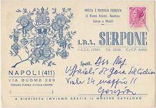 NAPOLI - S.R.L. SERPONE - RICAMI BANDIERE ECC..