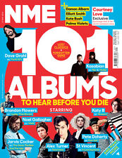 NEW NME magazine 17th 101 Albums To Hear Before You Die- Arctic Noel Kasabian +