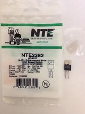 NTE2382 MOSFET-N-Ch, Enhancement Mode, High Speed Switch Replacement for IRF520