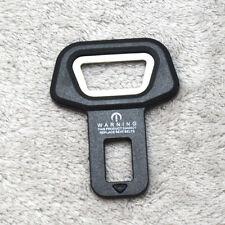 Black Car Safety Belt Buckle Alarm Stopper+Opener Fit VW AUDI BMW