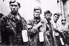 WW2 - Saint-Lô Juillet 1944 - Paras allemands prisonniers des Américains
