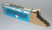 MARKLIN Ho M TRACK réf: 5106 Boite 10 Rail Droits 3 voies STRAIGHT TRACK neuf