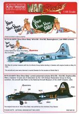 KW148133 Kits World Decals 1:48 Boeing B-17G Flying Fortress  'Shoo Shoo Baby'