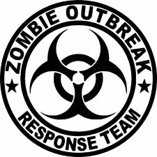 4x4 Spare Wheel Cover 4 x 4 Camper Graphic Zombie Outbreak Responce Team AA199