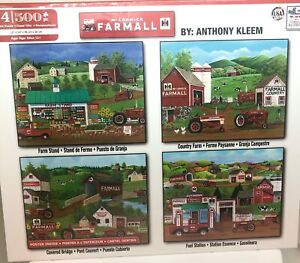 MCCORMICK FARMALL 4 500 PC jigsaw Puzzles Anthony Kleen 🎁 FREE SHIPPING