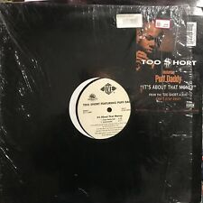 TOO $HORT feat. PUFF DADDY • It's About That Money • Vinile 12 Mix • 1999 JIVE