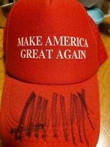 Autographed Trump Hat