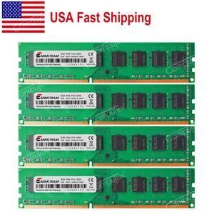US 32GB 4x8GB PC3-12800U DDR3-1600Mhz 240P Desktop Memory For Dell OptiPlex 9010