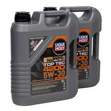 LIQUI MOLY 10L 10 Liter Motoröl Öl TOP TEC 4200 5W30 5W-30 3707 VW 504.00 507.00