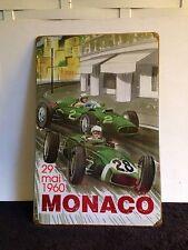 29 Mai 1960 Monoco Race Metal Sign