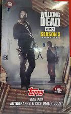 Topps Walking Dead Seasons 5 Trading Cards Hobby Box 2016