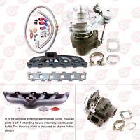 TURBO Manifold AND Turbocharger KIT FOR Nissan Safari Patrol 4.2L TD42 GQ GU Y60