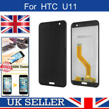 For HTC U11 LCD Display Touch Screen Digitizer Assembly Replacement Black
