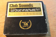 Club Sounds - Best of 15 Years [3 CD]  Guetta USHER Chicane ATB Tiesto Moguai