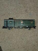 OO HO gauge Fleischmann 114788 Green continental WAGON unboxed