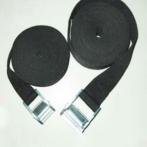 Nylon Pack Cam Tie Down Strap Lash Luggage Bag Belt Acc Buckle W4V4