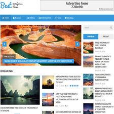 WordPress 'BEST' Website News / Magazine Theme Business For Sale (FREE HOSTING)