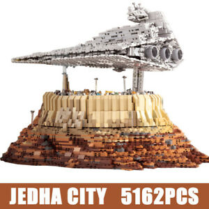 SW Wars Destroyer Cruise Ship The Empire Over Jedha City Model Blocks Adult Toys