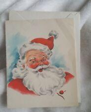 Vintage Hallmark Jolly St. Nick Greetings Card, Unused, Gorgeous