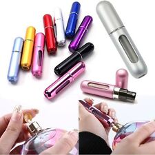 5ml Refillable Perfume Atomizer Bottle Travel Scent Pump Portable Spray Case