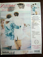 """Janlynn's Embellished Counted Cross Stitch Kit """"Being There"""" 12"""" x 16"""" #075-0054"""
