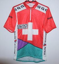 Vintage 80's 90's Gonso Switzerland cycling shirt size S