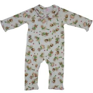 Powell Craft Baby's Cotton Jersey Baby grow Jumpsuit Garden Fairy 0-6M REDUCED